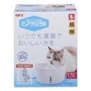 GEX ピュアクリスタル 猫用 本体 1.5L ホワイト