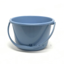 イエモア ワイドバケツ 9.5L 本体 ブルー