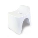 シンカテック ヒューバス 風呂椅子 高さ25cm H25 ホワイト