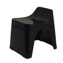 シンカテック ヒューバス 風呂椅子 高さ25cm H25 ブラック