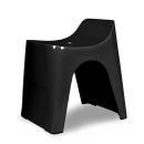 シンカテック ヒューバス 風呂椅子 高さ30cm H30 ブラック