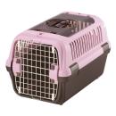 リッチェル キャンピングキャリー ダブルドア M 小型犬・猫用 ライトピンク
