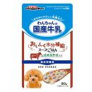 ドギーマン わんちゃんの国産牛乳 スープごはん ビーフと緑黄色野菜入り 80g