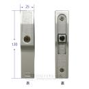 引違い錠 キー付き KH−109
