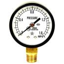 右下精器 汎用圧力計A50・R1/8下 S−11・1.6MPA