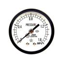 右下精器 汎用圧力計A50・R1/8後 S−130・1.6MPA