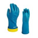 ミエローブ ハイブリッド防寒 ブルー S ビニール手袋