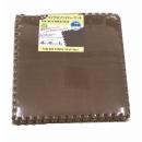 大判マイクロファイバーマット 45×45 8枚組 ブラウン