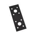 G−たんざく黒 40×100×2 1個