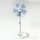 ユアサ ダブルタイマーリモコン扇風機 ホワイト