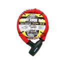 ユニカー ワイヤーロック ビッグ1000 BL−23 レッド