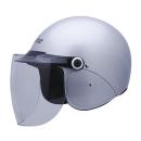 ユニカー セミジェットヘルメット Ver.F2 BH−25S シルバー