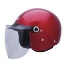ユニカー セミジェットヘルメット Ver.F2 BH−25R キャンディレッド