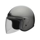 ユニカー ジェットヘルメット BH−30G ガンメタ