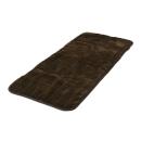 山善 洗えるどこでもカーペット ブラウン YWC−188F(T)