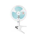 山善 切タイマー付き 18cm羽根 クリップ扇風機 YCT−F181 ホワイトブルー