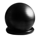 La-VIE ラ・ヴィ 姿勢よしお リング付きジムボール 65cm ブラック