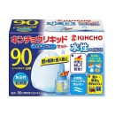 KINCHO 水性 キンチョウリキッド 90日用 無臭性 ミルキーブルーセット