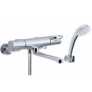 LIXIL サーモスタット付シャワーバス水栓 (エコフルシャワー・メッキ仕様) RBF−814