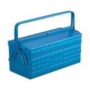 トラスコ (TRUSCO) 2段工具箱 ST−3500 ブルー