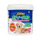 JOYPET ペット用ボディータオル 本体 130枚入