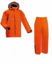 AP1000ワーキングレインスーツ レスキューオレンジ 5Lサイズ