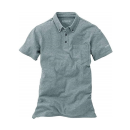 イーブンリバー ソフトドライポロシャツ 半袖 L グレー NR416