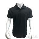 和玄屋×イーブンリバー ドライシールポロシャツ 半袖 L ブラック