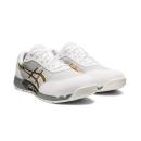 アシックス 作業靴 ウィンジョブ CP212 AC 101 ホワイト×ピュアゴールド 25.5cm