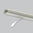 マサル工業 テープ付ニュー・エフモール 0号 1m ミルキーホワイト SFT03