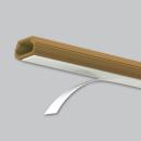 マサル工業 テープ付ニュー・エフモール 0号 1m ブラウン SFT06