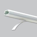 マサル工業 テープ付ニュー・エフモール 2号 1m ホワイト SFT22