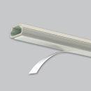マサル工業 テープ付ニュー・エフモール 2号 1m ミルキーホワイト SFT23