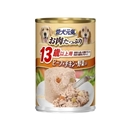 愛犬元気 缶 13歳以上用 ビ−フ・チキン・野菜入り 375g