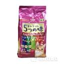 キャラット 5つの味 楽しみたい成猫用 海の幸・お肉プラス 1.2kg(240g×5袋)