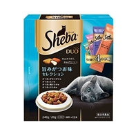シーバ デュオ 旨みがつお味セレクション 240g/20g×12袋