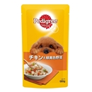 ペディグリー パウチ 成犬用 チキン&緑黄色野菜 130g