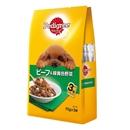 ペディグリー パウチ 成犬用 ビーフ&緑黄色野菜 70g×3袋