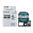 キングジム テプラ PRO テープカートリッジ 透明ラベル 4mm ST4K