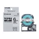 キングジム テプラ PRO テープカートリッジ 透明ラベル 6mm ST6K