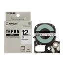 キングジム テプラ PRO テープカートリッジ 白ラベル 12mm SS12K