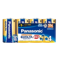 パナソニック エボルタ 単1形アルカリ乾電池 4本入