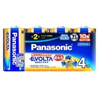 パナソニック エボルタ 単2形アルカリ乾電池 4本入