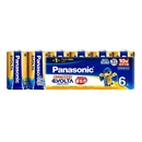 パナソニック エボルタ 単1形アルカリ乾電池 6本パック LR20EJ/6SW