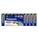 パナソニック エボルタ 単3形アルカリ乾電池 20本 LR6EJ/20SW