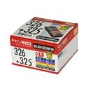 互換インクカートリッジ キヤノン用 326+325 6色セット