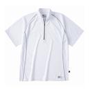 ホシ服装 228 半袖ジップアップシャツ
