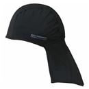 BT 冷感・消臭 パワーストレッチ カバー付ヘッドキャップ ブラック