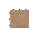 ジョイントタイルマット 1面 約30×30 ブラウン(BR) JTM1-30BR
