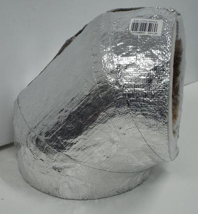 セラカバー90度エルボ100Φ